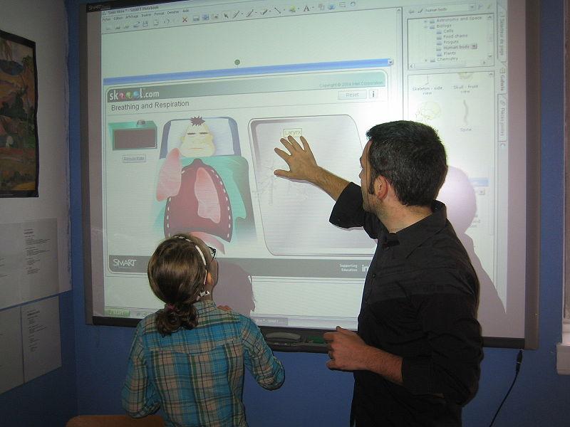 L'utilisation croissante des tableaux blancs interactifs dans les écoles