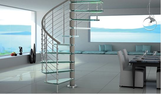 L'escalier colimaçon : le modèle pour les petits espaces