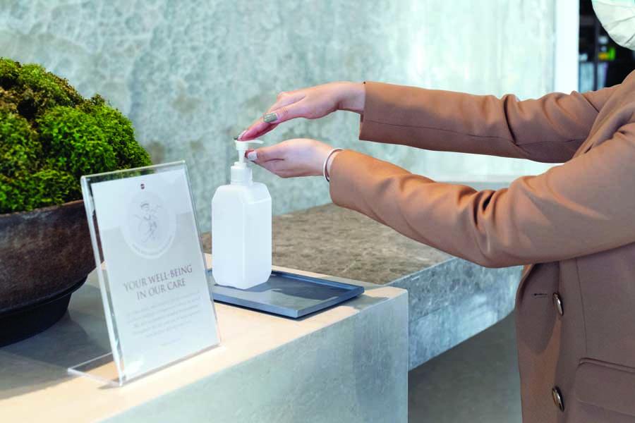 Favoriser une bonne hygiène des mains en entreprise